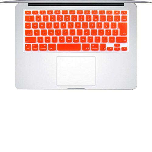 English Letter Silicone Keyboard Cover Ultra Thin Keyboard Skin for Japan VERSION MacBook Air 13