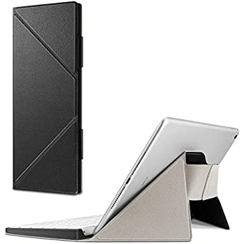 Fintie Apple Magicキーボードケース キーボードカバー MLA22LL/A専用 PUレザー スタンド機能 軽量 iPad/iPad Air/iPad Pro/iPad mini/iPhone/iMacに対応(ブラック)