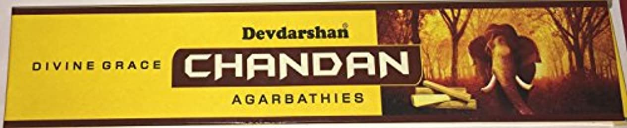 人柄マトリックス瞬時にdevdarshan Chandan Agarbathies with Divine Grace、Incense Sticks – 15グラム