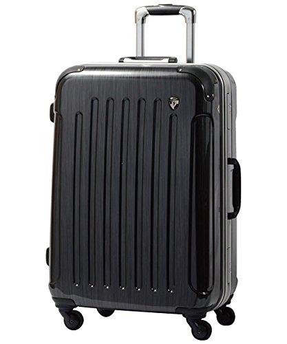 スーツケース キャリーバッグ TSAロック搭載 newPC7000 スクラッチガンメタ L型(7~14日用) 鏡面加工