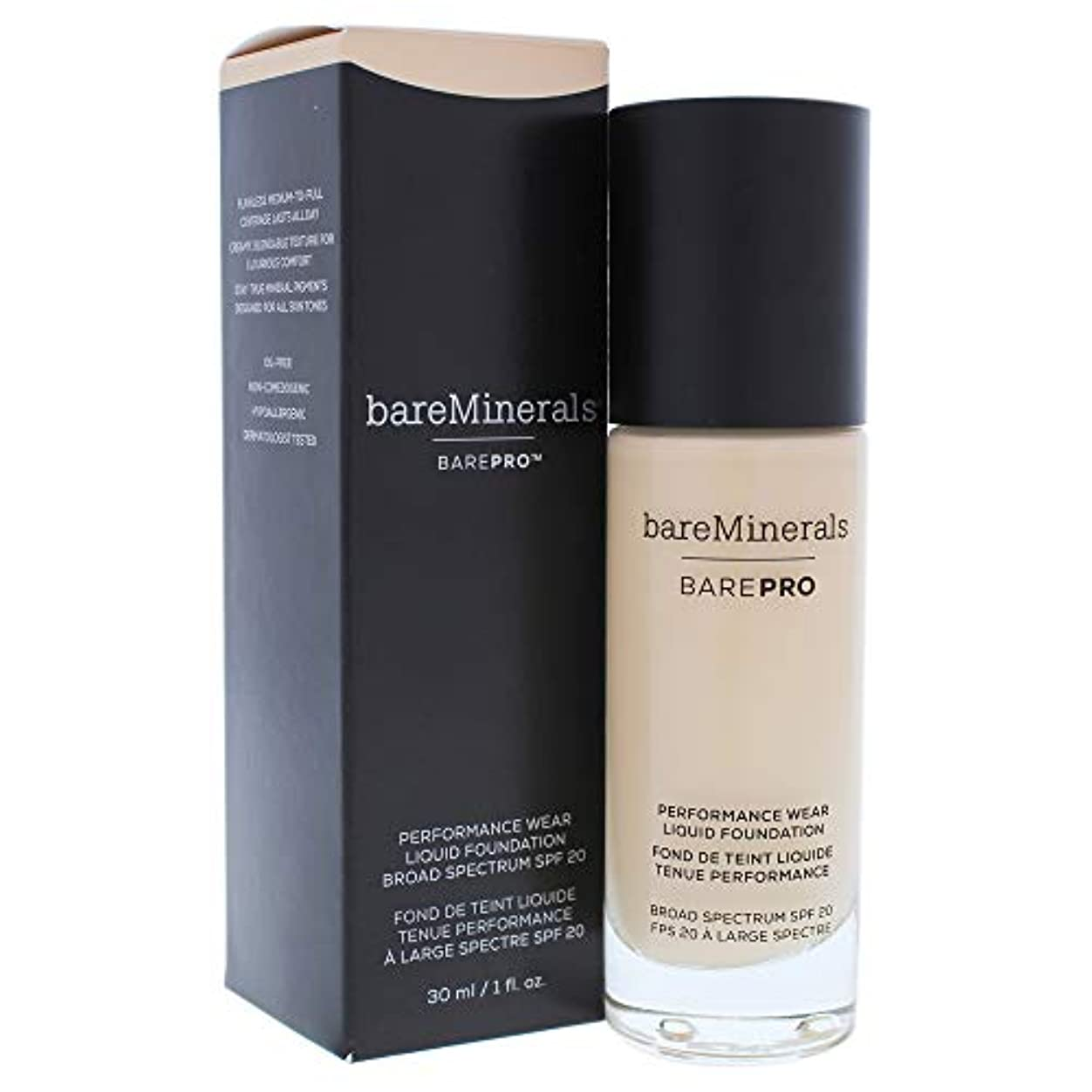船形受粉する自発的ベアミネラル BarePro Performance Wear Liquid Foundation SPF20 - # 06 Cashmere 30ml/1oz並行輸入品