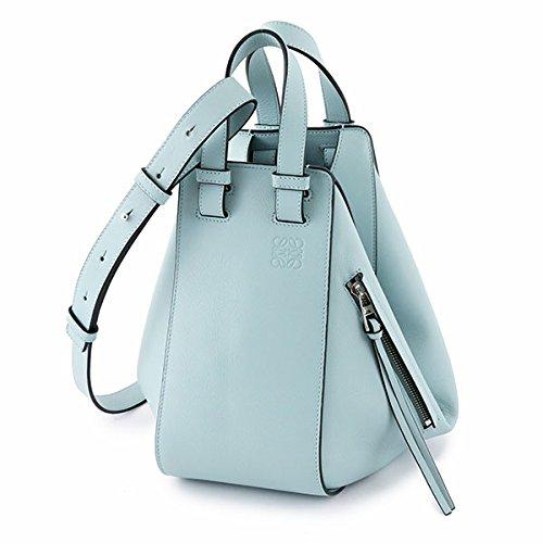 LOEWE ロエベ 387.30NN60 HAMMOCK SMALL BAG ハンモック スモール バッグ 6way ハンドバッグ ショルダーバッグ カラー5245/AQUA レディース [並行輸入品]