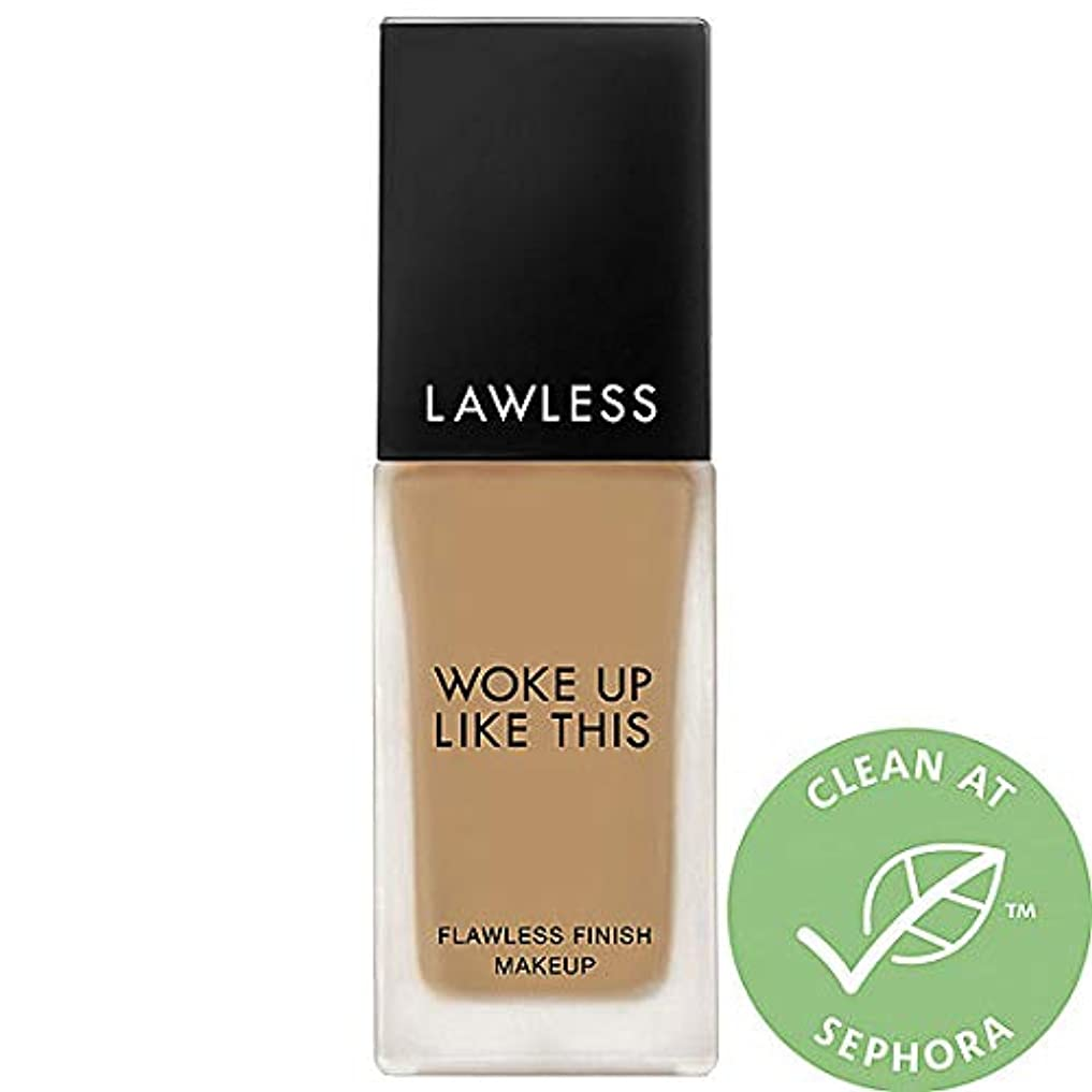 農学願望愛人LAWLESS Woke Up Like This Flawless Finish Foundation (Nomad)