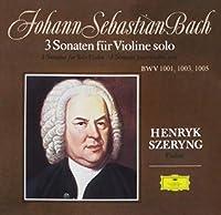 バッハ:無伴奏ヴァイオリンのためのソナタ第1番~第3番