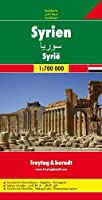 Syria Road Map 1:700 000