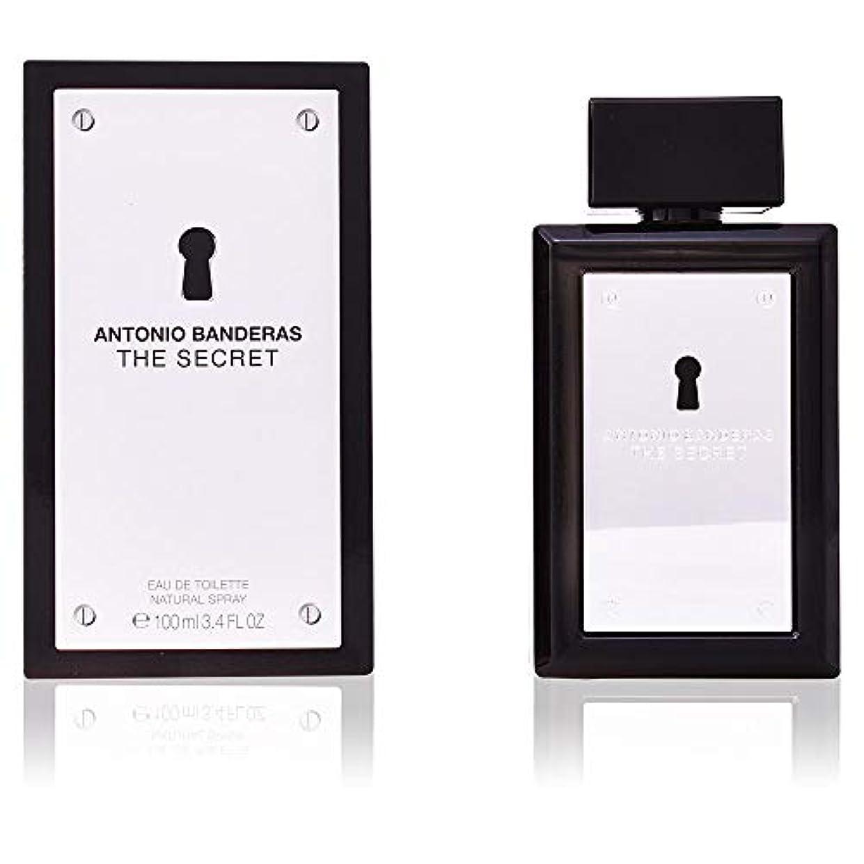 栄光ナインへバーガーThe Secret by Antonio Banderas Eau De Toilette Spray 3.4 oz / 100 ml (Men)
