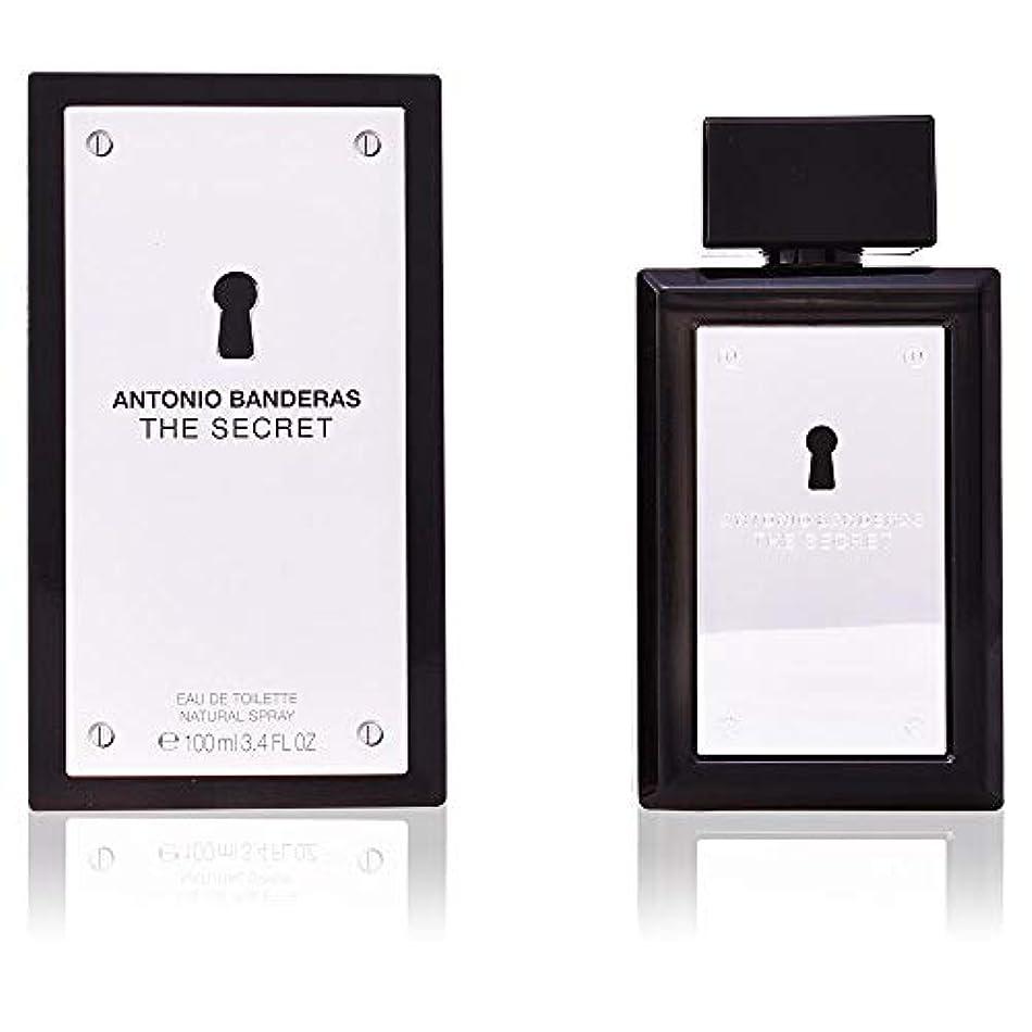チョコレートスタジアム代表団The Secret by Antonio Banderas Eau De Toilette Spray 3.4 oz / 100 ml (Men)