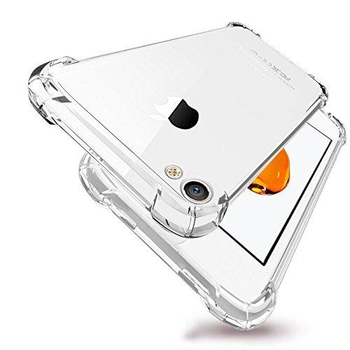 RoiCiel iPhone 4S/4用ケース透明 クリア ソフトカバー 衝撃吸収 高品質TPU シ...