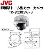 JVCケンウッド(ビクター) カラービデオカメラ(耐衝撃ドーム型 屋外用) TK-S2301WPB