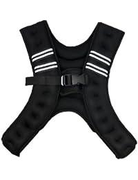 COM★MI-POWER-DX-ブラック◆総重量約5kg 男女兼用の 究極 パワージャケット 着るだけでトレーニング 腹筋/スクワット等 筋トレ に最適!