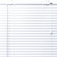 プラスチック ブラインド 【幅170cm×高さ92cm】 ホワイト/幅161~180cm×高さ30~100cm から選べる