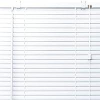プラスチック ブラインド 【幅152cm×高さ196cm】 ホワイト/幅141~160cm×高さ152~200cm から選べる