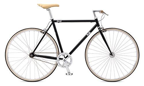 FUJI(フジ) STROLL クロスバイク 2017年モデル サイズ541SPEED、クロモリフレーム、700C ブラック 17STRLBK54