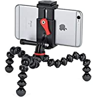 Joby Griptight Action Kit All-in-One Video Tripod Stand for Smartphones and Action Cameras, Black, (JB01515-BWW)