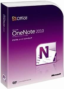 【旧商品】Microsoft Office OneNote 2010 通常版 [パッケージ]