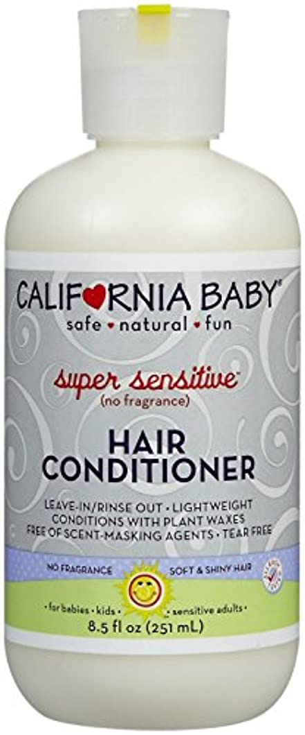 ストレンジャー会う困ったCalifornia Baby hair Conditioner - Super Sensitive, 8.5 Ounce by California Baby