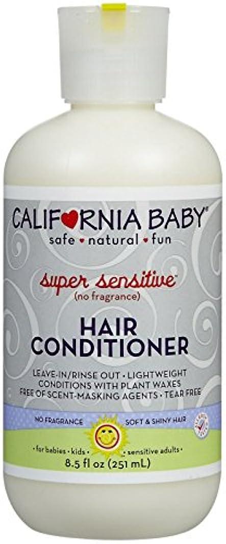 額窒素チャレンジCalifornia Baby hair Conditioner - Super Sensitive, 8.5 Ounce by California Baby