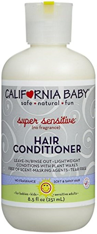 食品チチカカ湖ティームCalifornia Baby hair Conditioner - Super Sensitive, 8.5 Ounce by California Baby