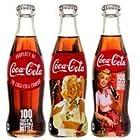 コカ・コーラ 250mL瓶 コカコーラボトル100周年記念デザインボトル 【2ケース/48本セット】