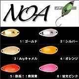 Rodiocraft(ロデオクラフト) NOA(ノア) Jr 0.9g #12 X.Oオリーブ スプーン ルアー
