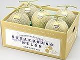 ふらのメロン (秀品 計8kg 4~6玉) 北海道富良野メロン 平均糖度16度のめろん