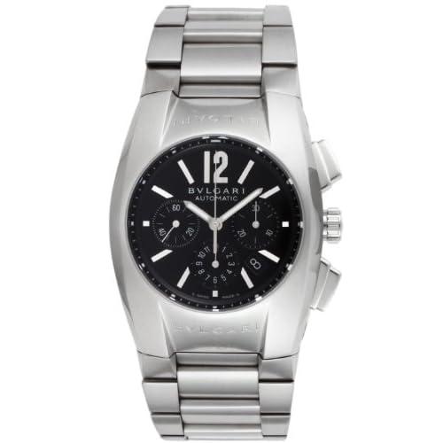 [ブルガリ]BVLGARI 腕時計 エルゴン ブラック文字盤  自動巻 クロノグラフ デイト EG35BSSDCH メンズ 【並行輸入品】