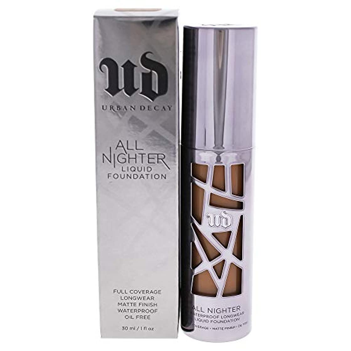 に対して主観的グレーAll Nighter Liquid Foundation - 10.0