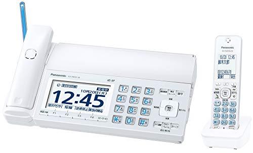 パナソニック おたっくす デジタルコードレスFAX 子機1台付き 迷惑電話対策機能搭載 ホワイト KX-PD725DL-W