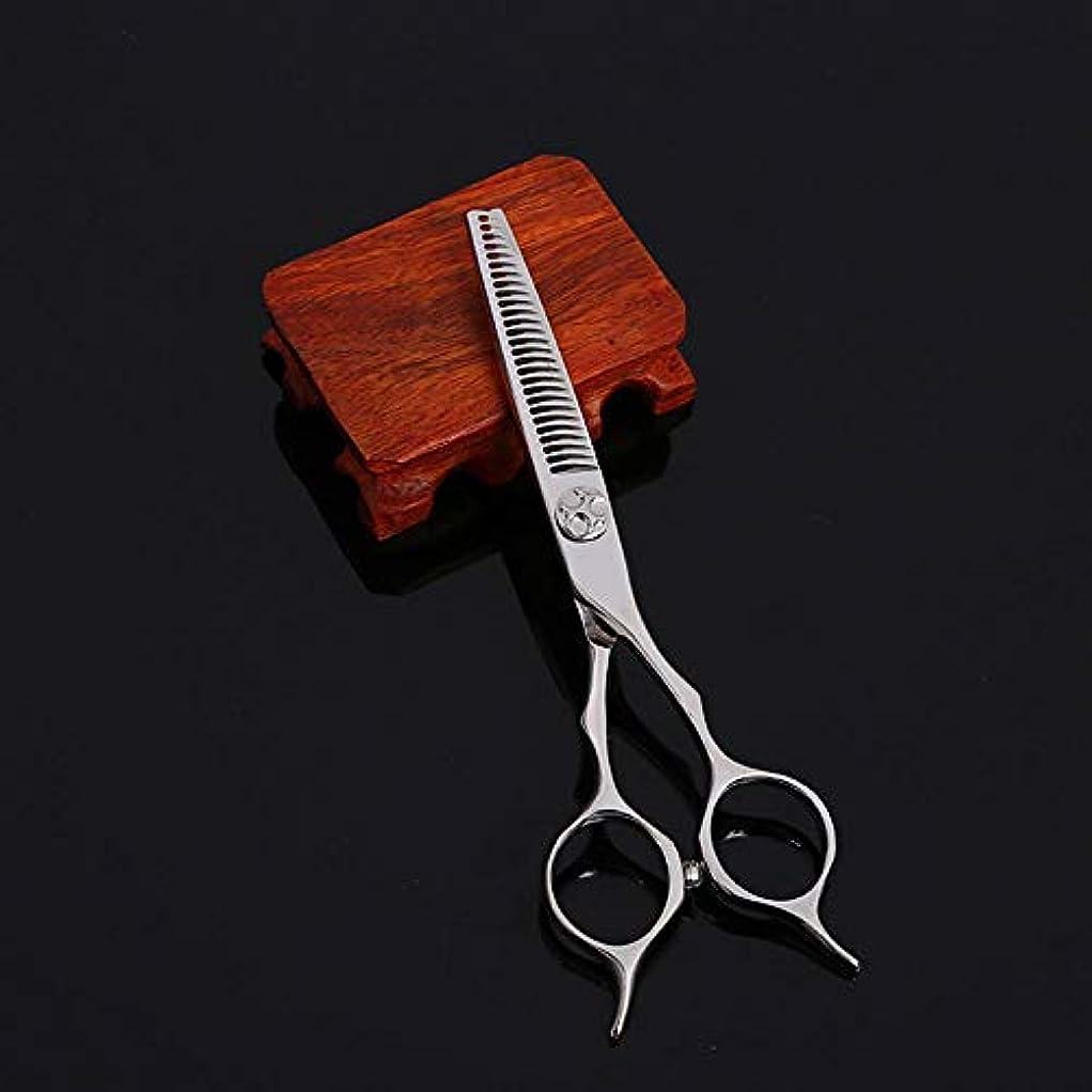 ストレンジャー湿地スマイル理髪用はさみ 5.5インチの美容院の専門のステンレス鋼の散髪はさみの毛の切断はさみのステンレス製の理髪師のはさみ (色 : Silver)