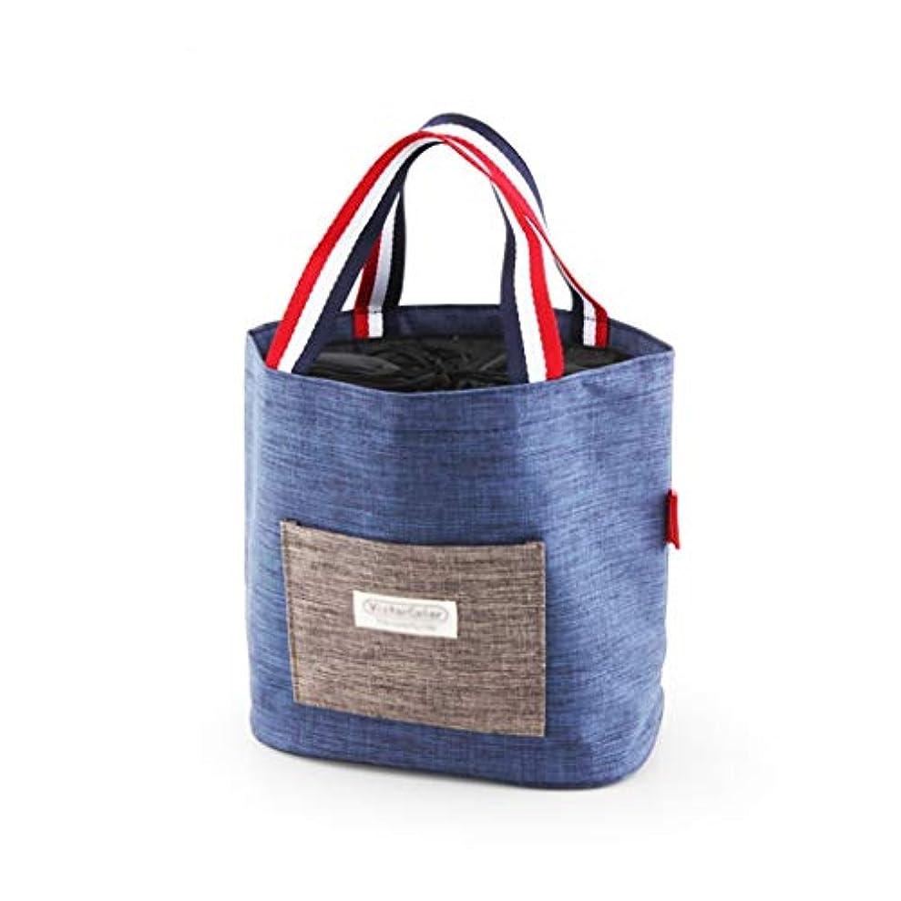 視聴者バイオリンスコットランド人学生絶縁バッグ、持ち運びが簡単オックスフォード布ポータブル多機能ランチバッグアウトドア旅行キッチンオフィスワーカーピクニックバッグ (サイズ さいず : 24*19.5*34.5CM)