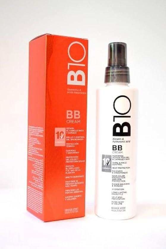 凝視暴動コミュニティBroaer B10 BBクリームケラチン&ヒアルロン酸200 ml。