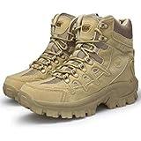 [Knightraid] [ナイトレイド] メンズ ミリタリー ブーツ アウトドア シューズ 登山 靴 ブーツ ブラック ブラウン ベージュ ハイキング シューズ サバイバル サバゲー ハイカット サイドジップ タイプ KR127
