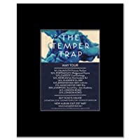 TEMPER TRAP - UK Tour 2012 Mini Poster - 13.5x10cm