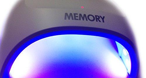 MEMORY 充電式 コードレス LED ジェルネイル ライト ドライヤー ランプ T201C 30W ブラック INSJAPAN