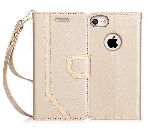 iPhone8 ケース iPhone7ケース,Fyy [RFIDブロッキング] 100%手作り 良質...