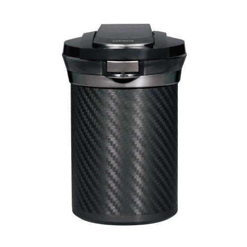 カーメイト『愛煙缶Premium カーボン調ブラック(DZ186)』