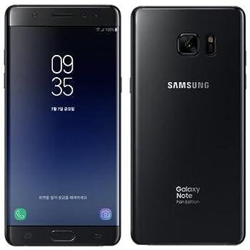 (SIMフリー) Samsung サムスン Galaxy Note FE N935FD Dual Sim 64GB (Black ブラック) [並行輸入品]