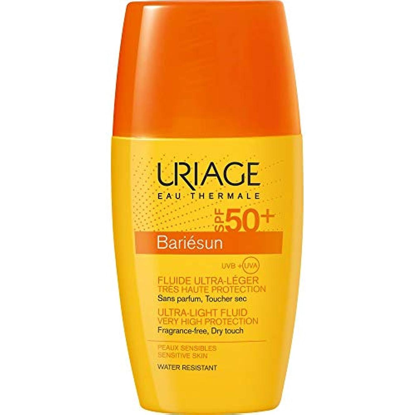 フォームプロペラ渦[Uriage] Uriage Bariesun超軽量流体Spf50 + 30ミリリットル - Uriage Bariesun Ultra-Light Fluid SPF50+ 30ml [並行輸入品]