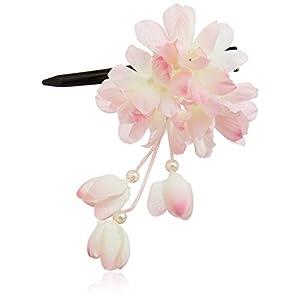[粋花]Suikaあじさい風和装髪飾り149 ピンク