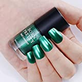 Tradico®9ml Metallic Nail Polish Mirror Emerald Jade Born Pretty Shiny Manicure Varnish
