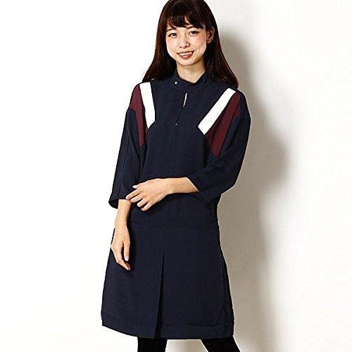 ラコステ(LACOSTE) ラコステ カラーブロッククレープドレス(七分袖)