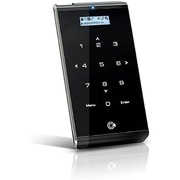iodd 2541 USB 3.0/2.5インチ外付けencryptedディスクドライブ。仮想ODD機能。ブート[iodd2541、USB 3.0 Exterem SPEED, Virtual ODD/HDD]