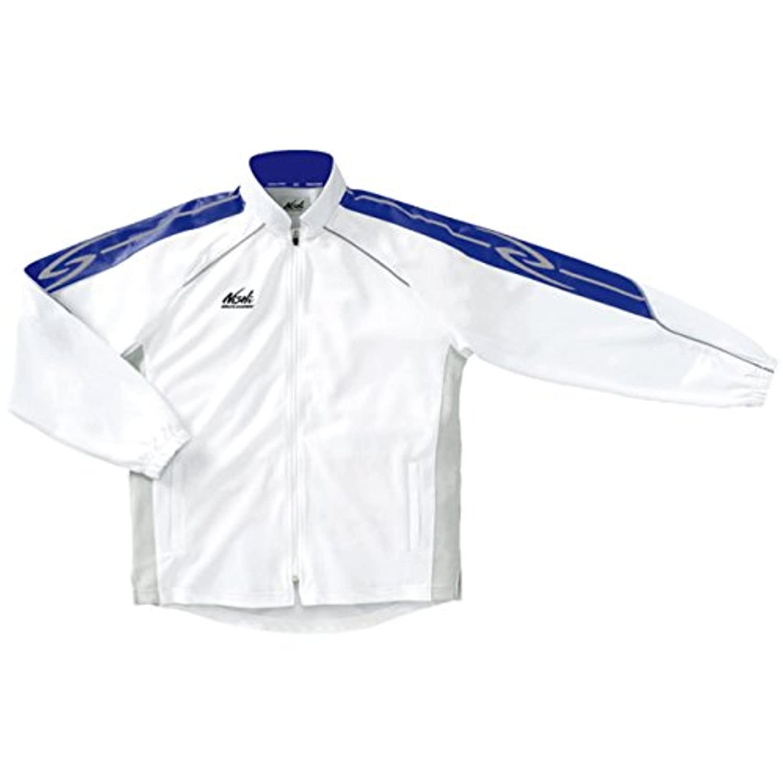 ニシ?スポーツ(NISHI) ライトトレーニングジャケット(ホワイト/グレー) 70-07J-0171