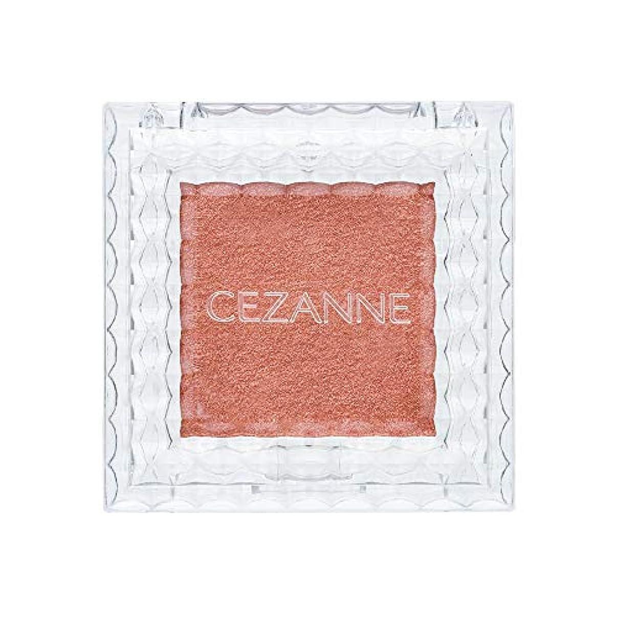 再生暴露する感度セザンヌ シングルカラーアイシャドウ 06 オレンジブラウン 1.0g