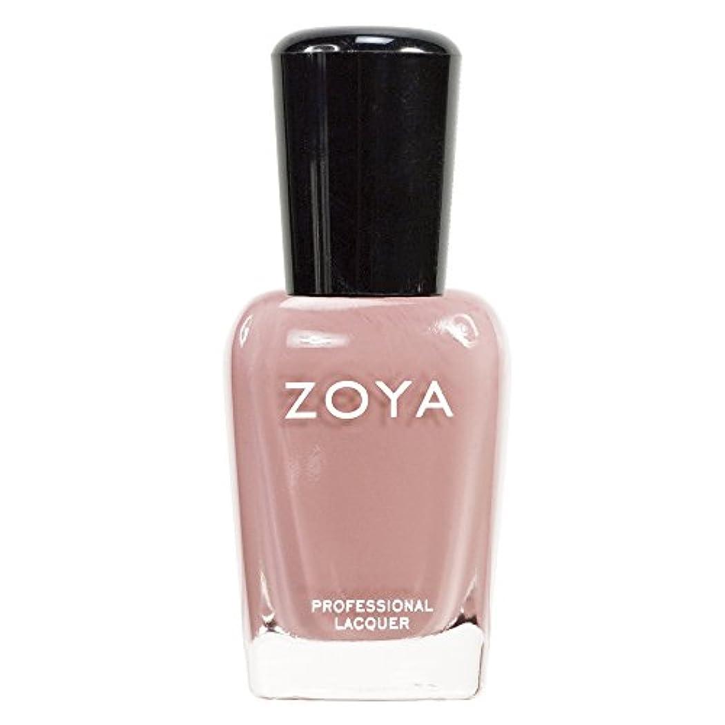 永遠に労働者体操ZOYA ゾーヤ ネイルカラーZP380 AMANDA アマンダ  15ml 上品なスモーキーなピンク マット 爪にやさしいネイルラッカーマニキュア