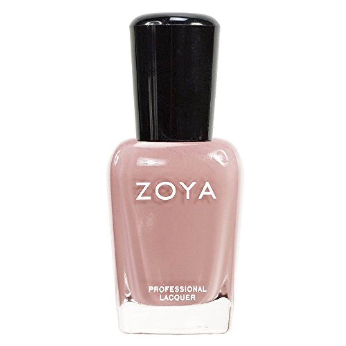 分離浮浪者偏心ZOYA ゾーヤ ネイルカラーZP380 AMANDA アマンダ  15ml 上品なスモーキーなピンク マット 爪にやさしいネイルラッカーマニキュア