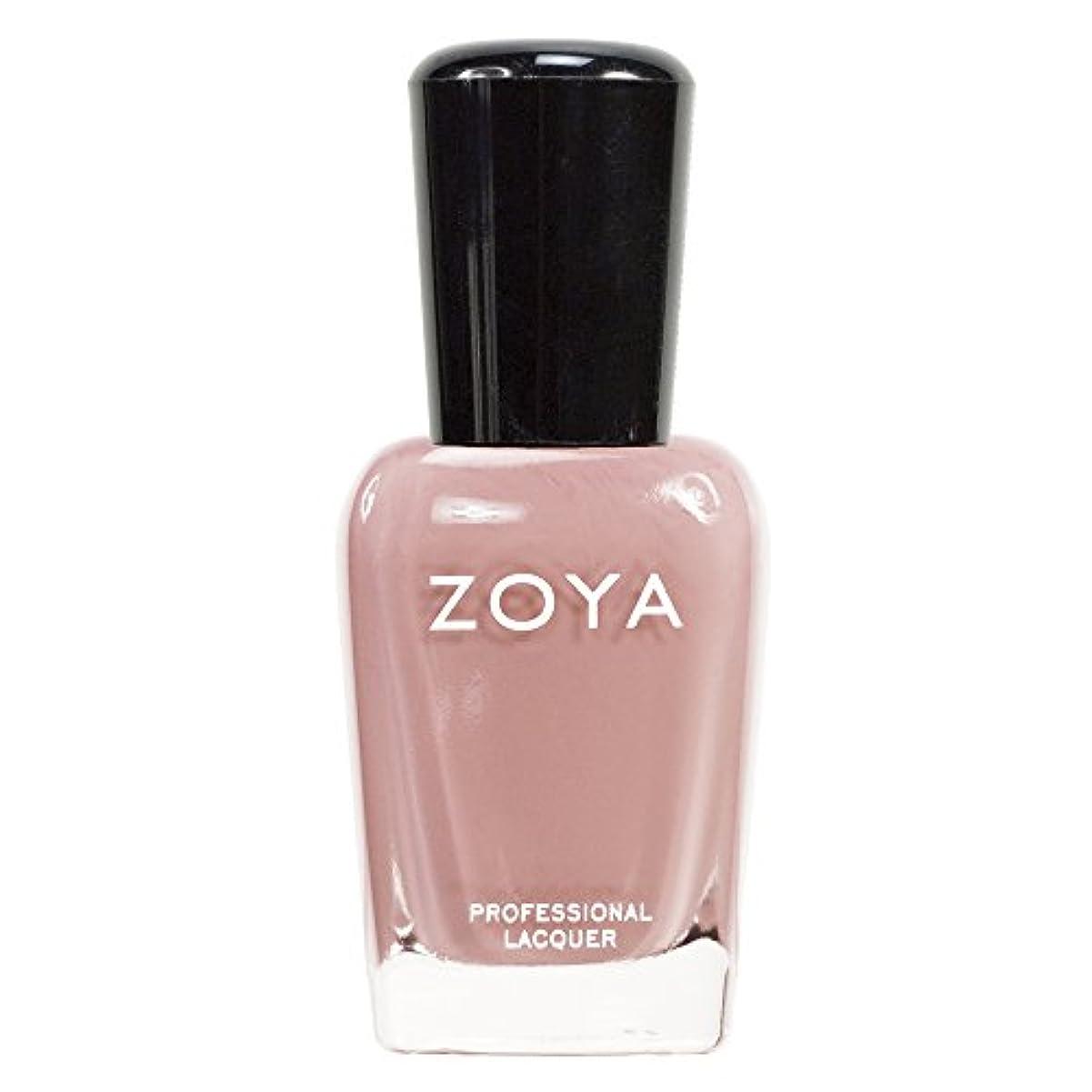 解体する証明書手錠ZOYA ゾーヤ ネイルカラーZP380 AMANDA アマンダ  15ml 上品なスモーキーなピンク マット 爪にやさしいネイルラッカーマニキュア