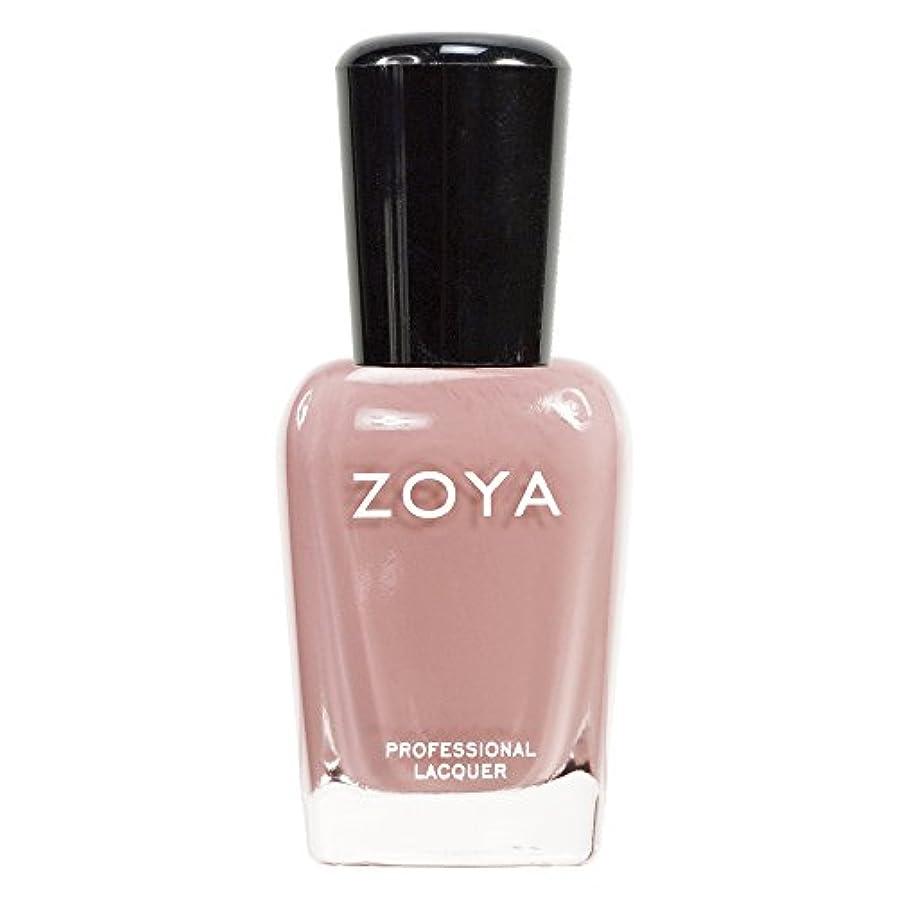 駐地決めます無駄にZOYA ゾーヤ ネイルカラーZP380 AMANDA アマンダ  15ml 上品なスモーキーなピンク マット 爪にやさしいネイルラッカーマニキュア