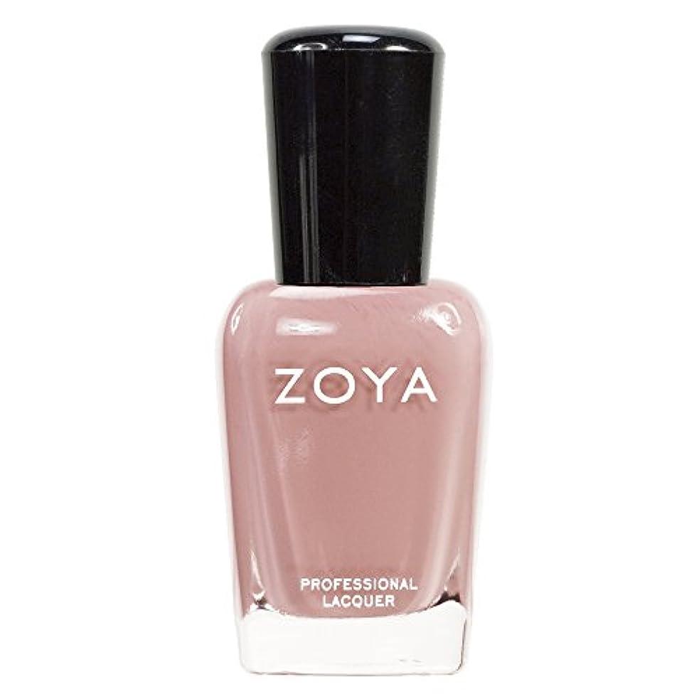 アクセスできない講師励起ZOYA ゾーヤ ネイルカラーZP380 AMANDA アマンダ  15ml 上品なスモーキーなピンク マット 爪にやさしいネイルラッカーマニキュア