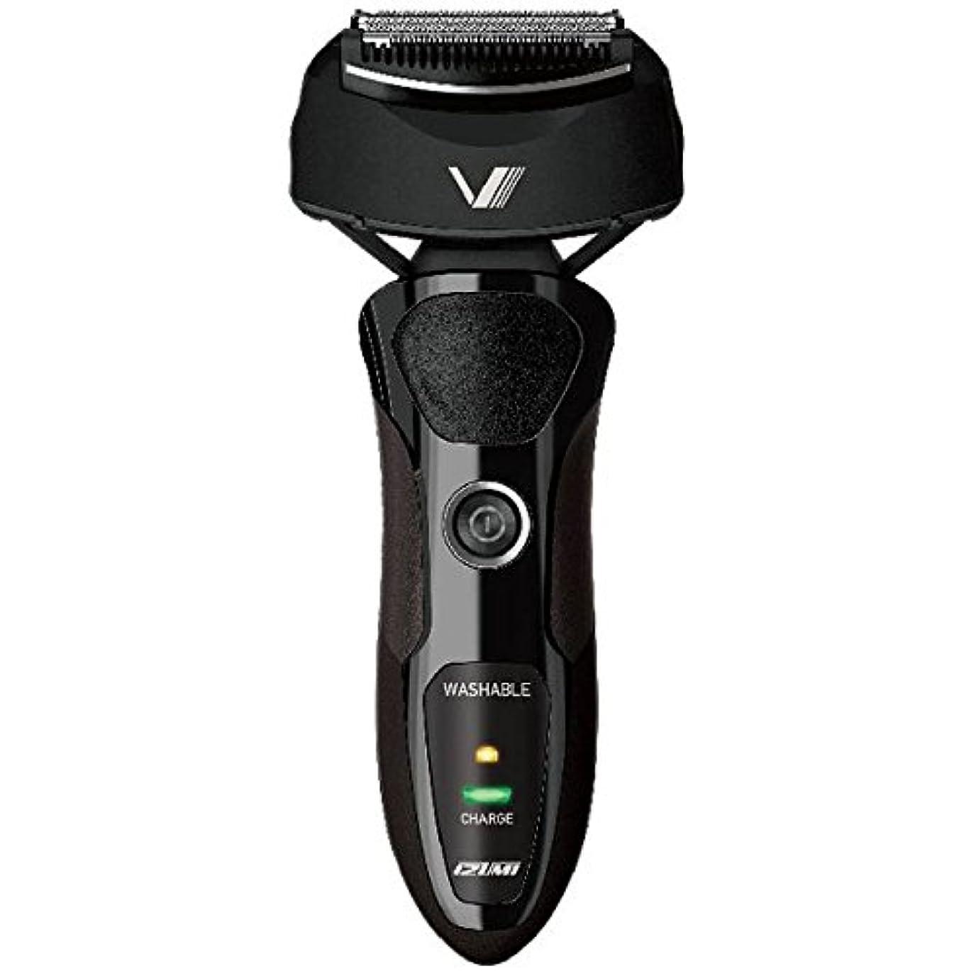 縫う広々としたスクワイアIZUMI VIDAN 往復式シェーバー 深剃りシリーズ 3枚刃 ブラック IZF-V36-K